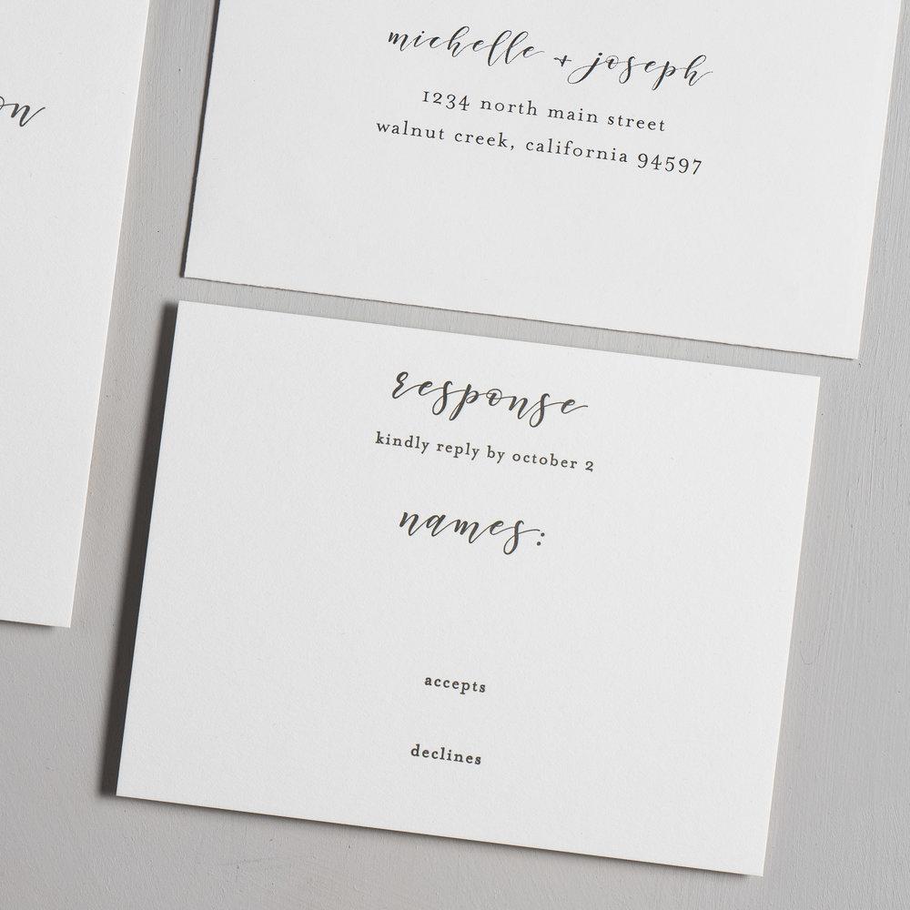 Delicate Minimalist Letterpress Wedding Invitations by Just Jurf-4.jpg