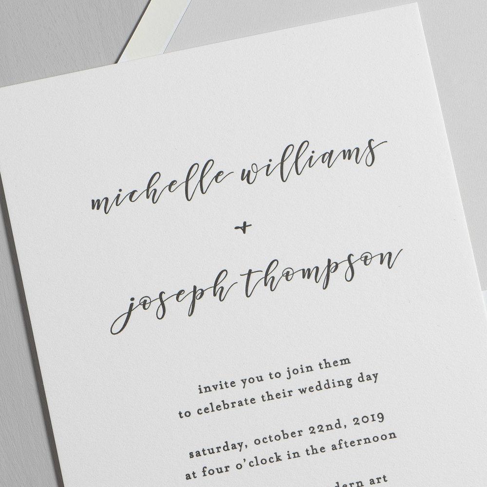 Delicate Minimalist Letterpress Wedding Invitations by Just Jurf-8.jpg