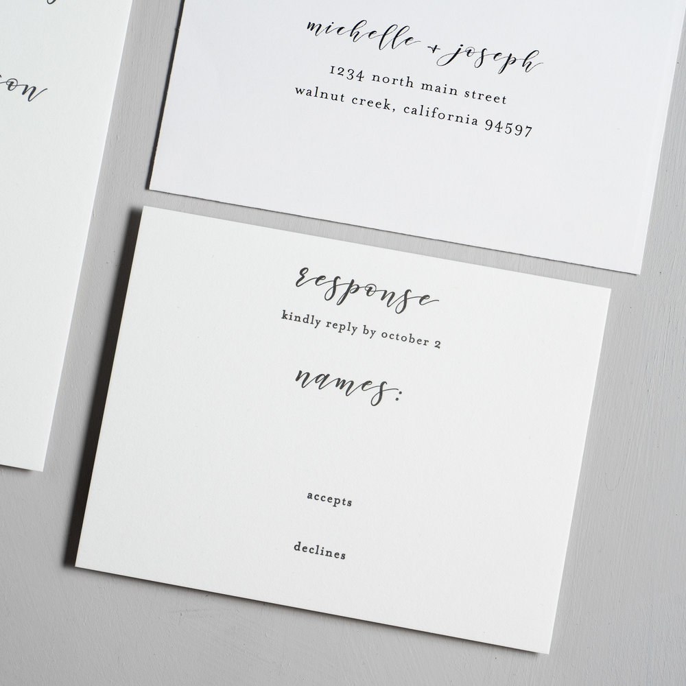 Minimalist Floral Letterpress Wedding Invitations by Just Jurf-4.jpg