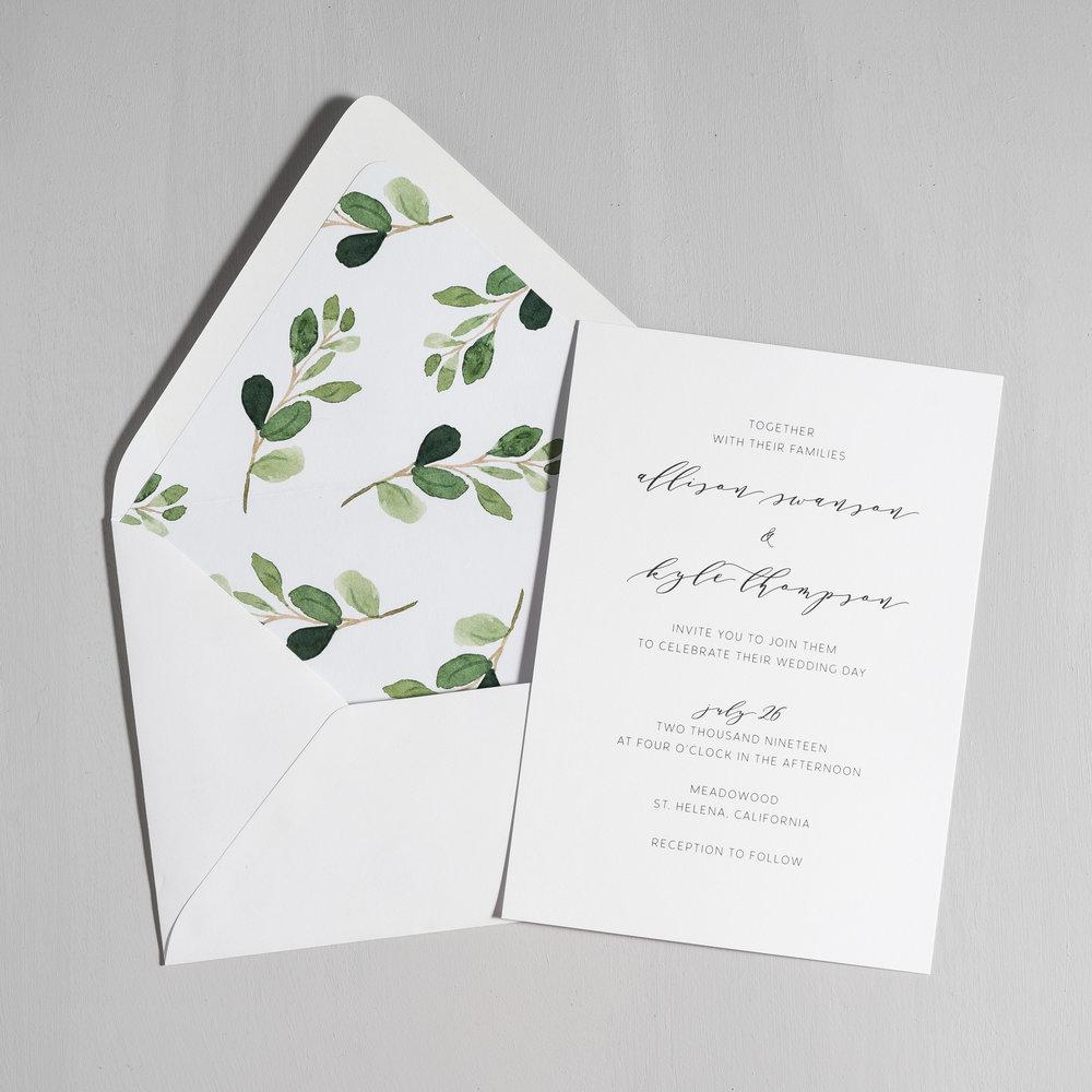Modern Greenery Wedding Invitations by Just Jurf-5.jpg