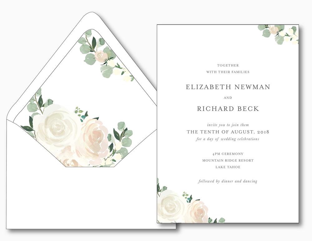 Elegant Blush Floral