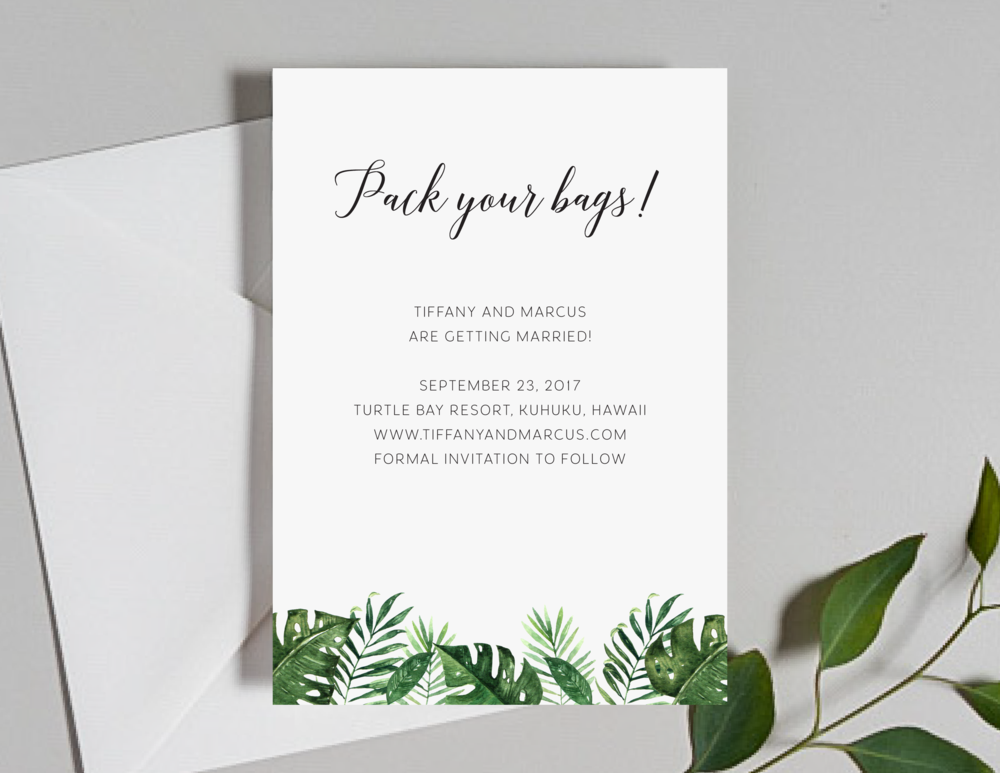 Tropical Greenery Palm Leave Save the Dates by Just Jurf-01.png