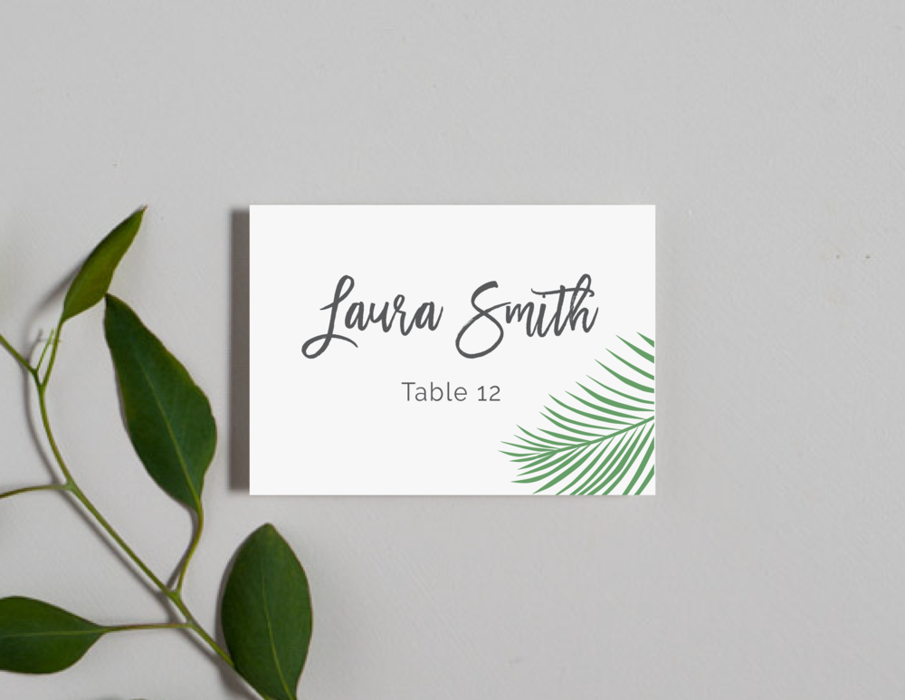 Soft Tropical Palm Leaf Place Cards by Just Jurf-01.png