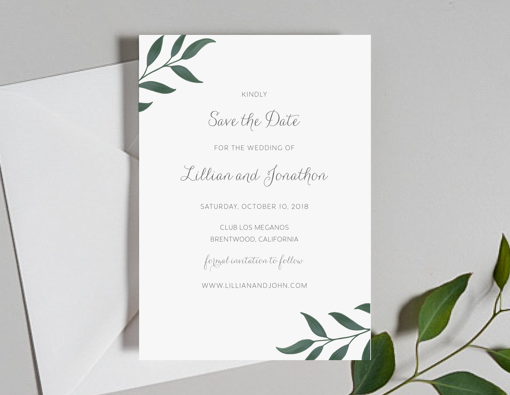 Botanical Leaf Save the Dates by Just Jurf-01.png