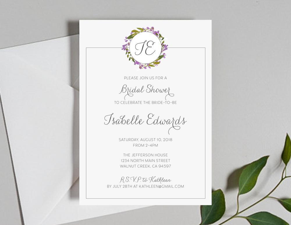 Purple Floral Monogram Shower Invitation by Just Jurf-01.png