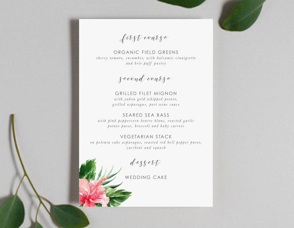 Tropical Floral Menus by Just Jurf-01.png