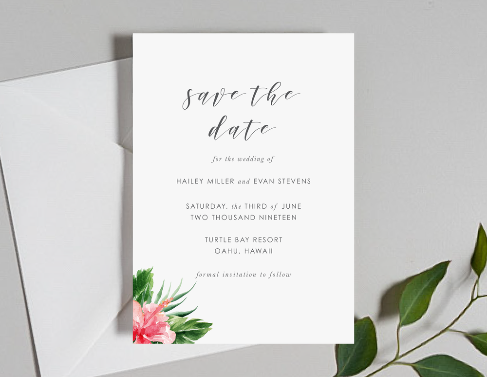 Tropical Floral Save the Dates by Just Jurf-01.png