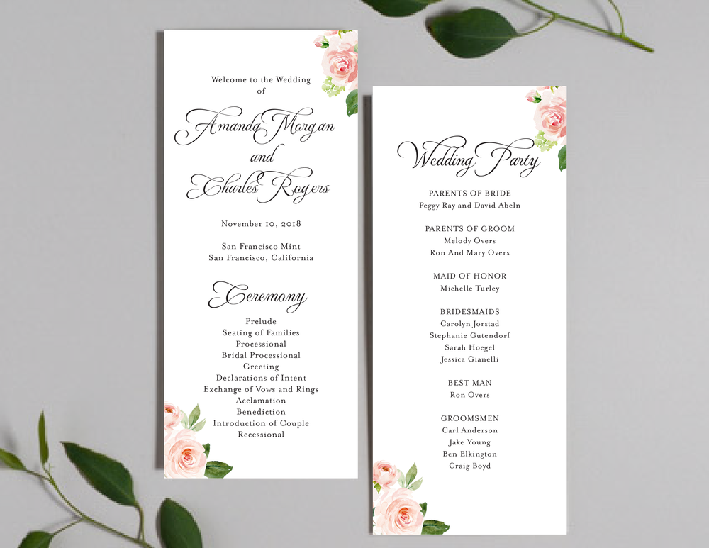 Pink Watercolor Floral Programs by Just Jurf-01.png