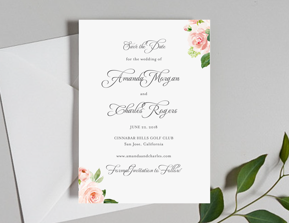 Pink Watercolor Floral Save the Dates by Just Jurf-01.png