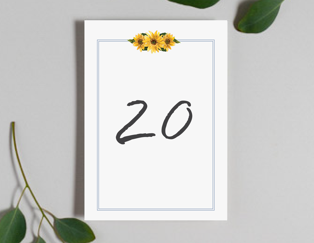 Sunflower Table Numbers by Just Jurf-01.png