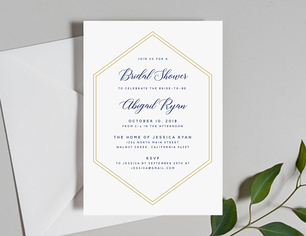 Navy, Gold and Greenery Shower Invitation by Just Jurf-01.png
