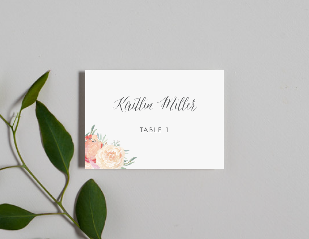 Modern Peach Watercolor Floral Place Cards by Just Jurf-01.png