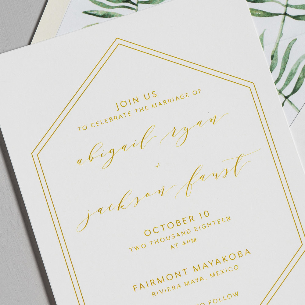 Hexagon Tropical Wedding Invitations by Just Jurf-8.jpg