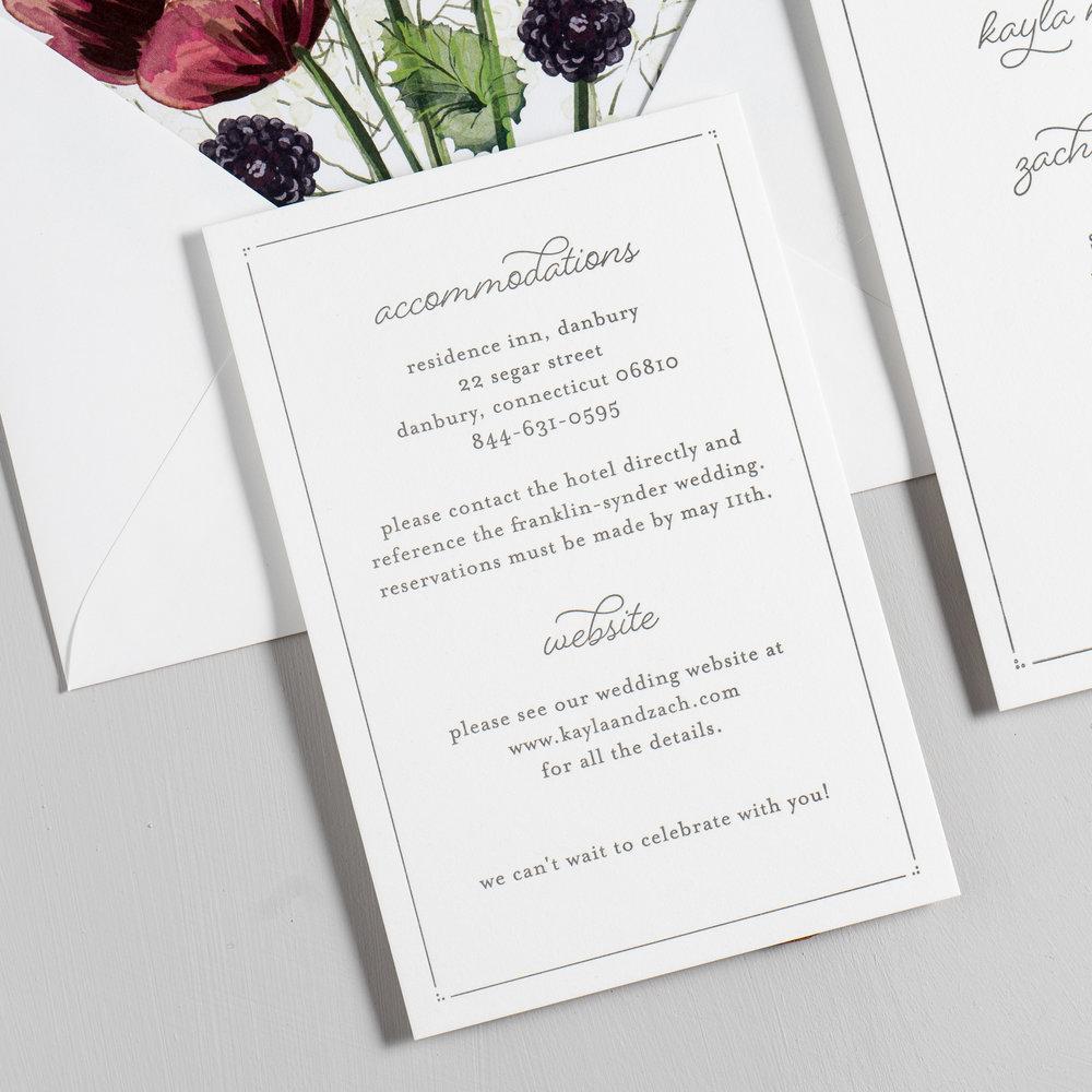 Burgundy Poppy Letterpress Wedding Invitations by Just Jurf-3.jpg