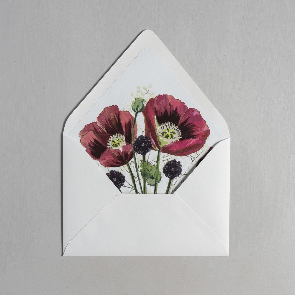 Burgundy Poppy Letterpress Wedding Invitations by Just Jurf-9.jpg