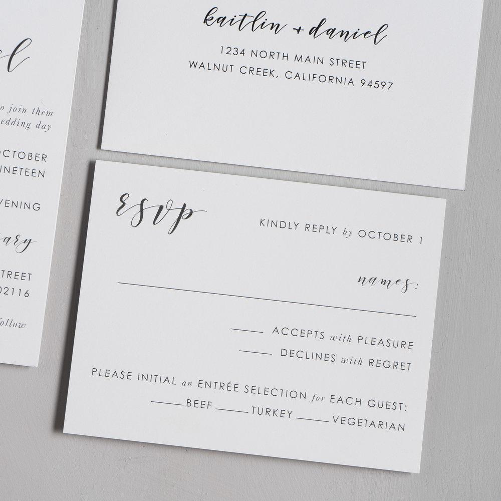 Simple Modern Script V2 Wedding Invitations by Just Jurf-4.jpg