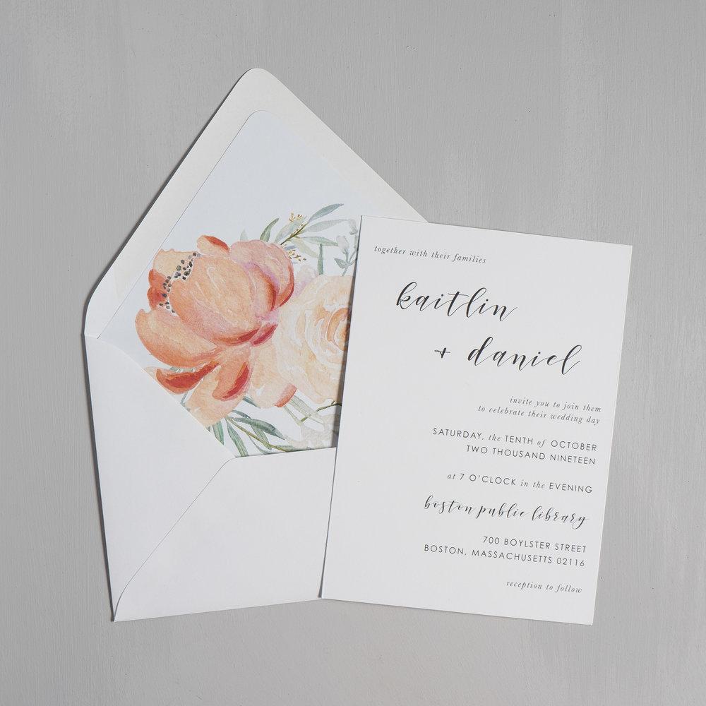 Simple Modern Script V2 Wedding Invitations by Just Jurf-5.jpg