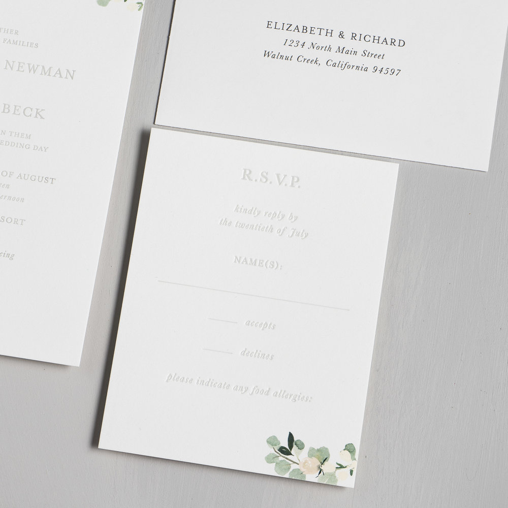 *Elegant Blush Floral Letterpress Wedding Invitations by Just Jurf-4b.jpg