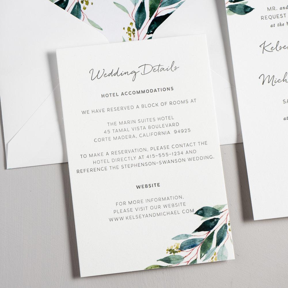 Botanical Greenery Letterpress Wedding Invitations by Just Jurf-3.jpg
