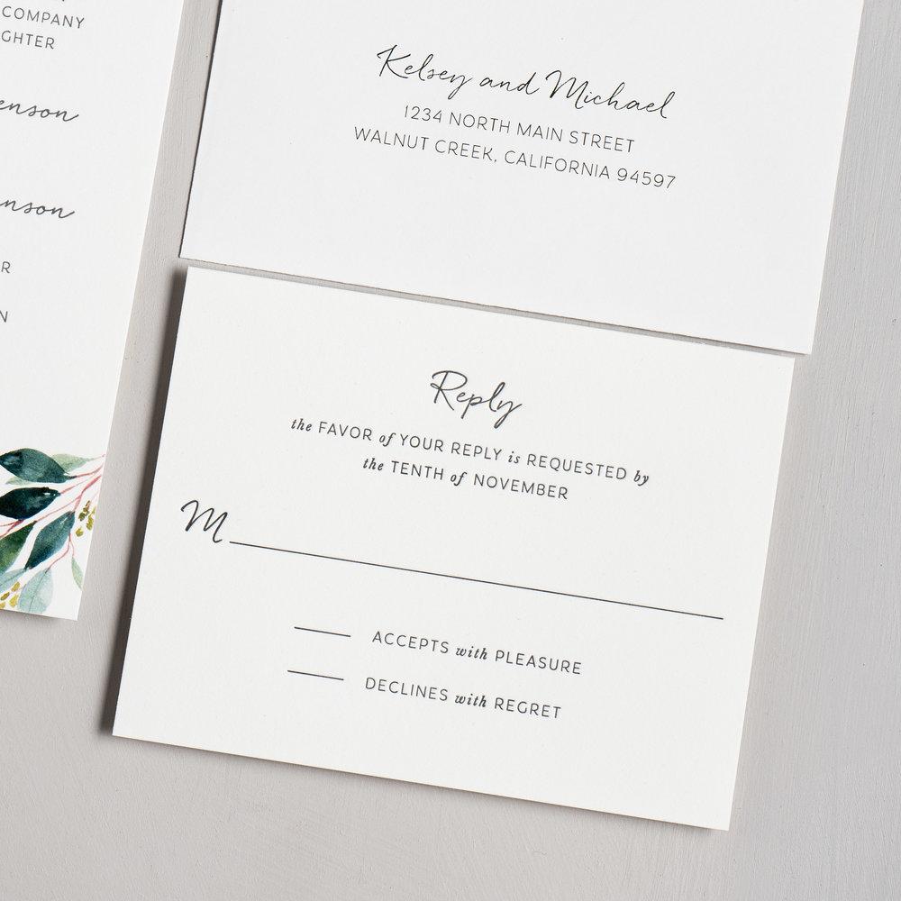 Botanical Greenery Letterpress Wedding Invitations by Just Jurf-4.jpg