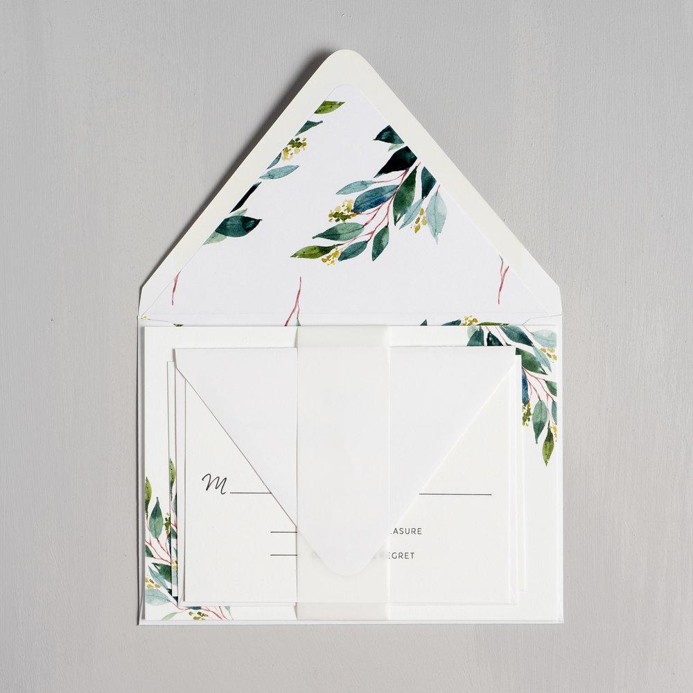 Botanical Greenery Letterpress Wedding Invitations by Just Jurf-10.jpg