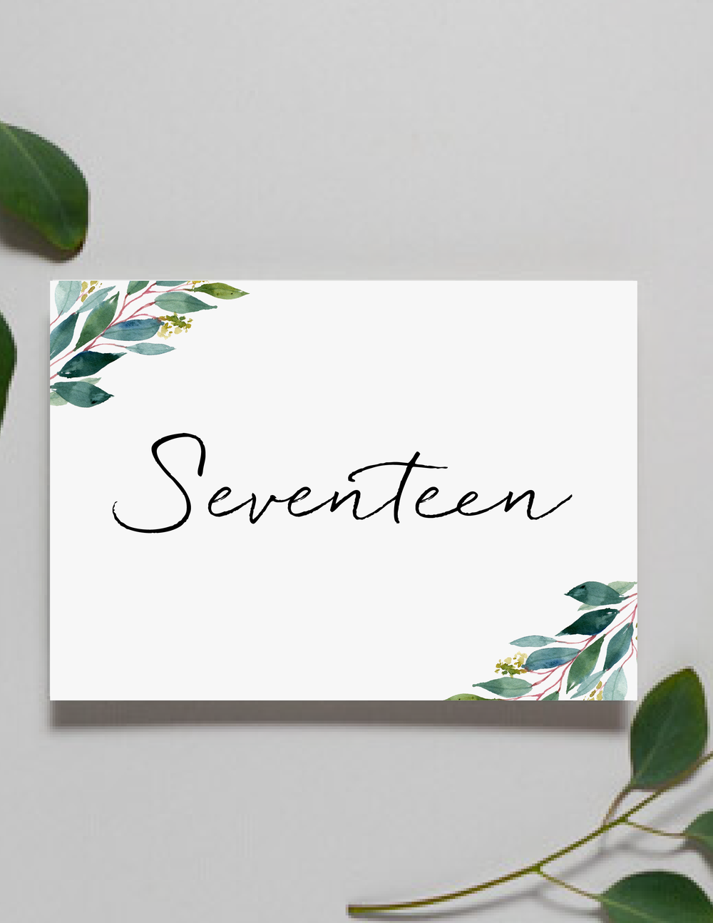 Botanical Greenery Table Numbers by Just Jurf-01.png