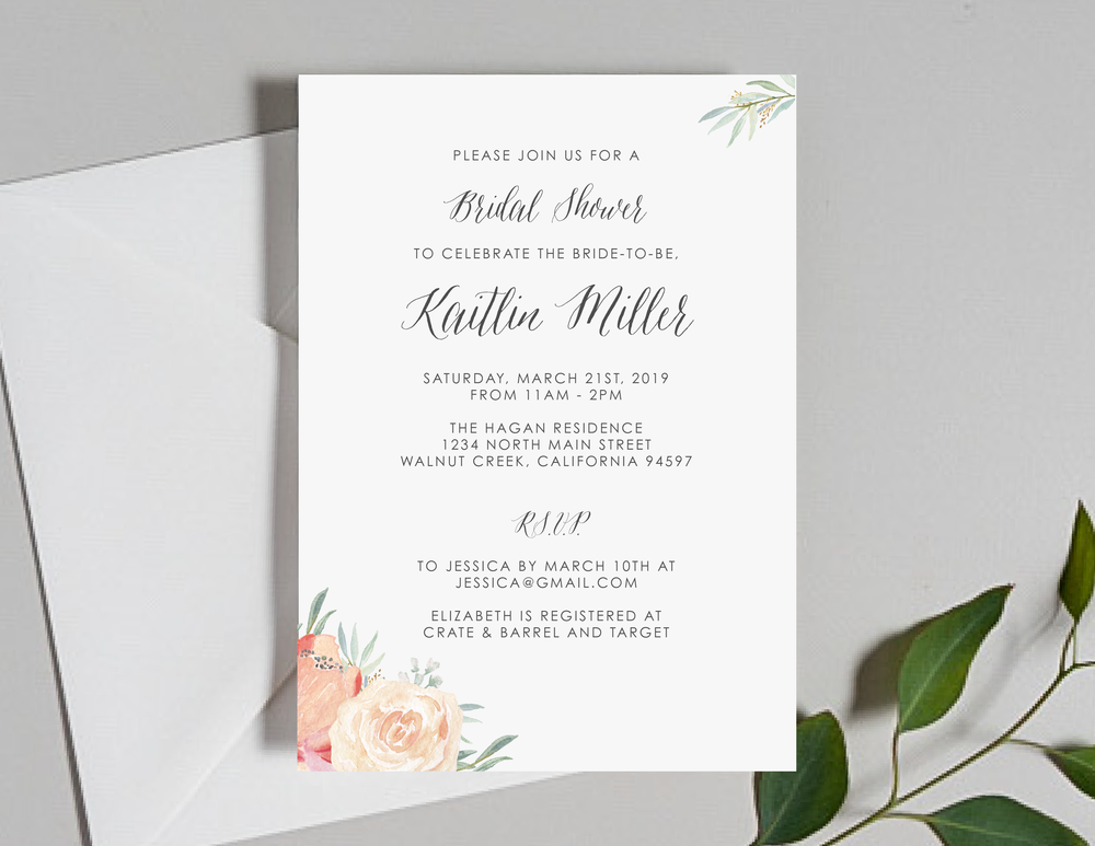 Modern Peach Watercolor Floral Shower Invitation by Just Jurf-01.png