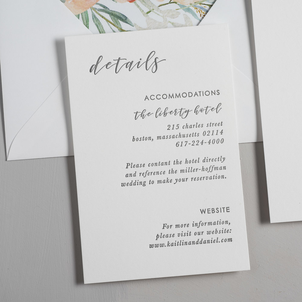 Simple Modern Script V2 Letterpress Wedding Invitations by Just Jurf-3.jpg