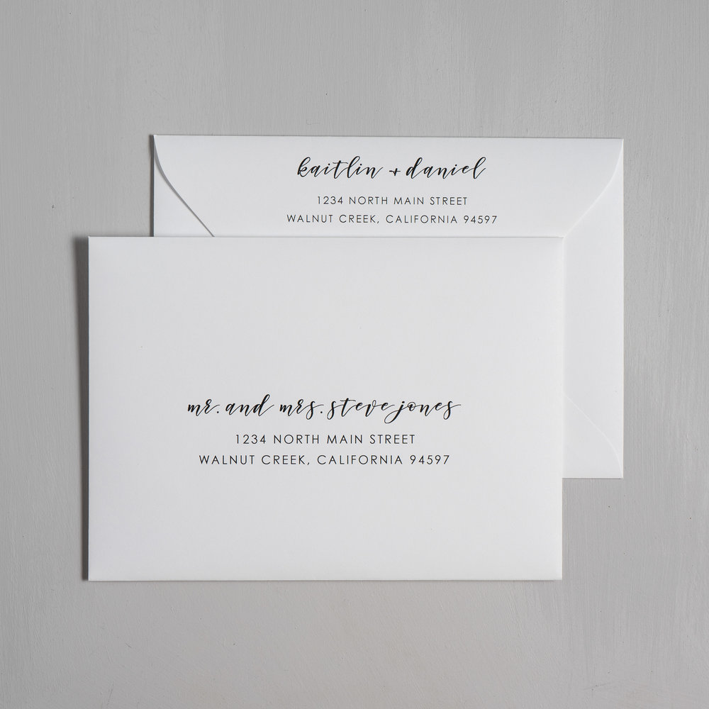 Simple Modern Script V2 Letterpress Wedding Invitations by Just Jurf-7.jpg