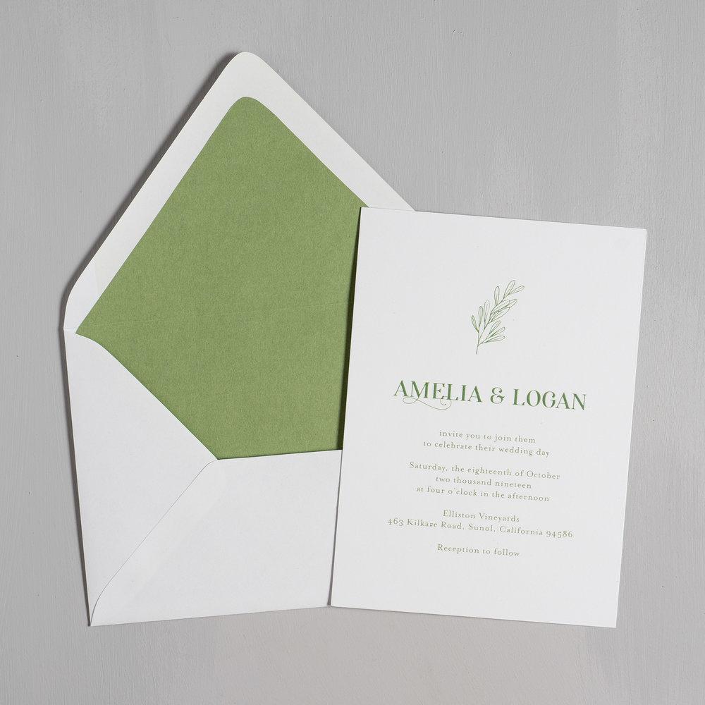 Olive Green Leaf Wedding Invitations by Just Jurf-5.jpg