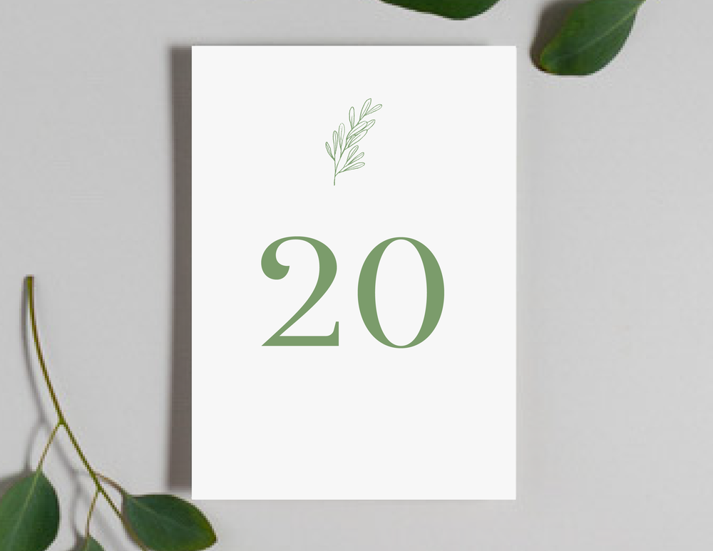 Olive Green Leaf Table Numbers by Just Jurf-01.png