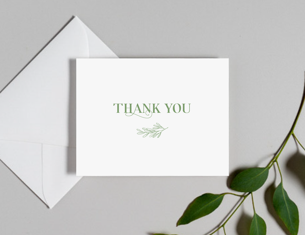 Olive Green Leaf Thank You Cards by Just Jurf-01.png