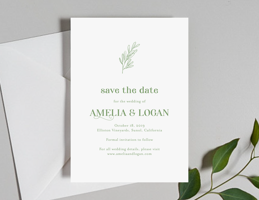 Olive Green Leaf Save the Dates by Just Jurf-01.png