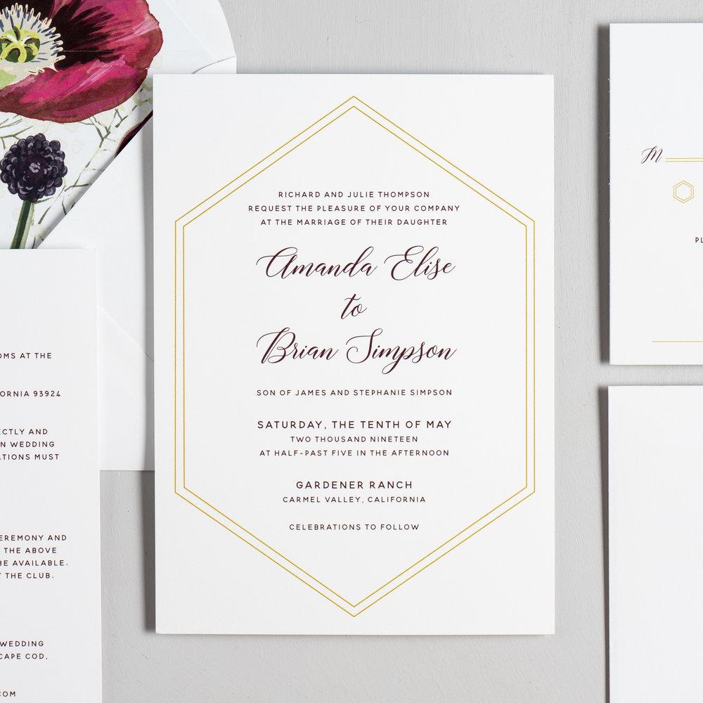 Elegant Burgundy Floral Wedding Invitations by Just Jurf-2.jpg