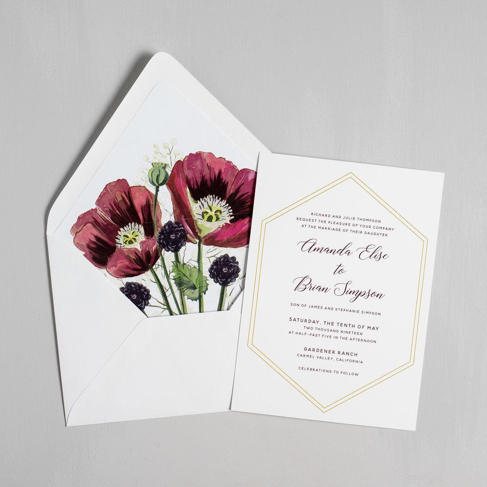 Elegant Burgundy Floral Wedding Invitations by Just Jurf-5.jpg