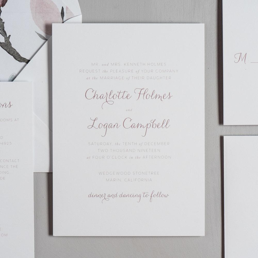 Pink Magnolia Floral Wedding Invitations by Just Jurf-2.jpg