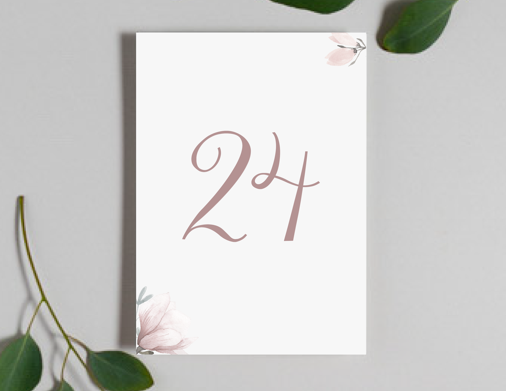 Pink Magnolia Floral Table Numbers by Just Jurf-01.png