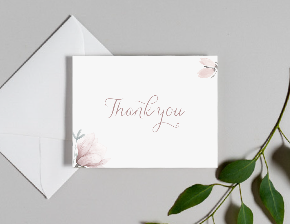 Pink Magnolia Floral Thank You Cards by Just Jurf-01.png