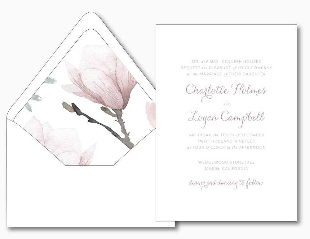 Pink Magnolia Floral