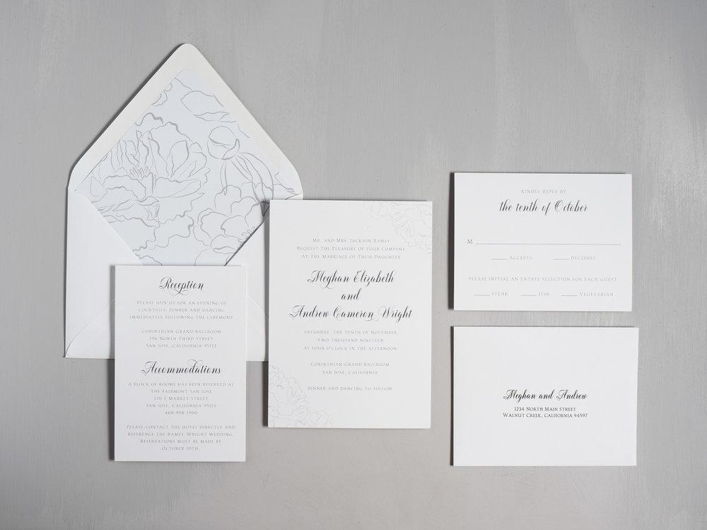 Simple Elegant Floral Wedding Invitations by Just Jurf-1.jpg