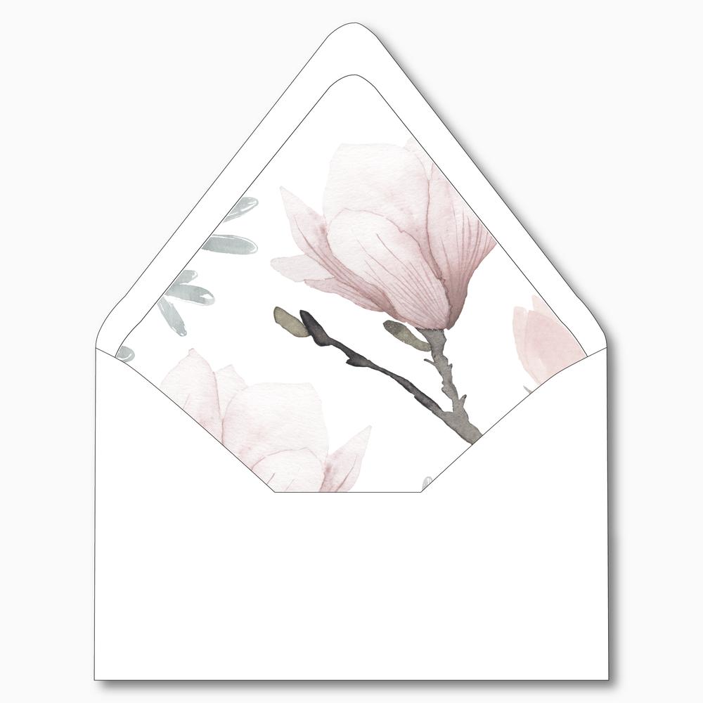 NC34 Pink Magnolia Floral