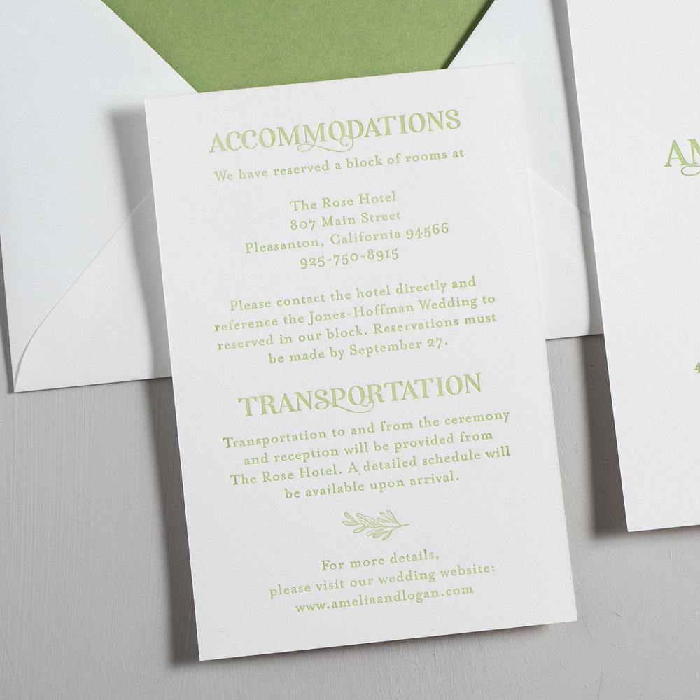 Olive Green Leaf Letterpress Wedding Invitations by Just Jurf-3.jpg