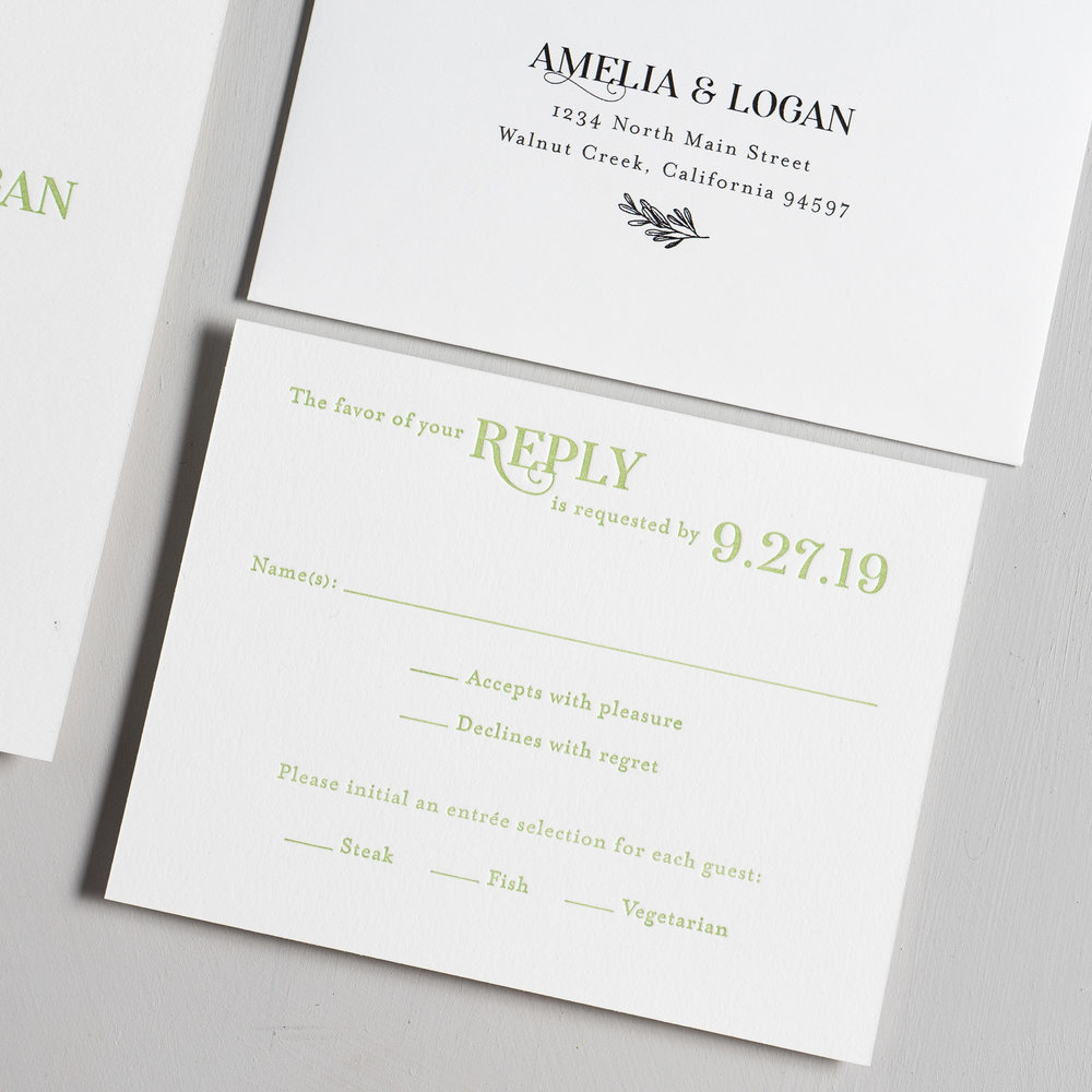 Olive Green Leaf Letterpress Wedding Invitations by Just Jurf-4.jpg