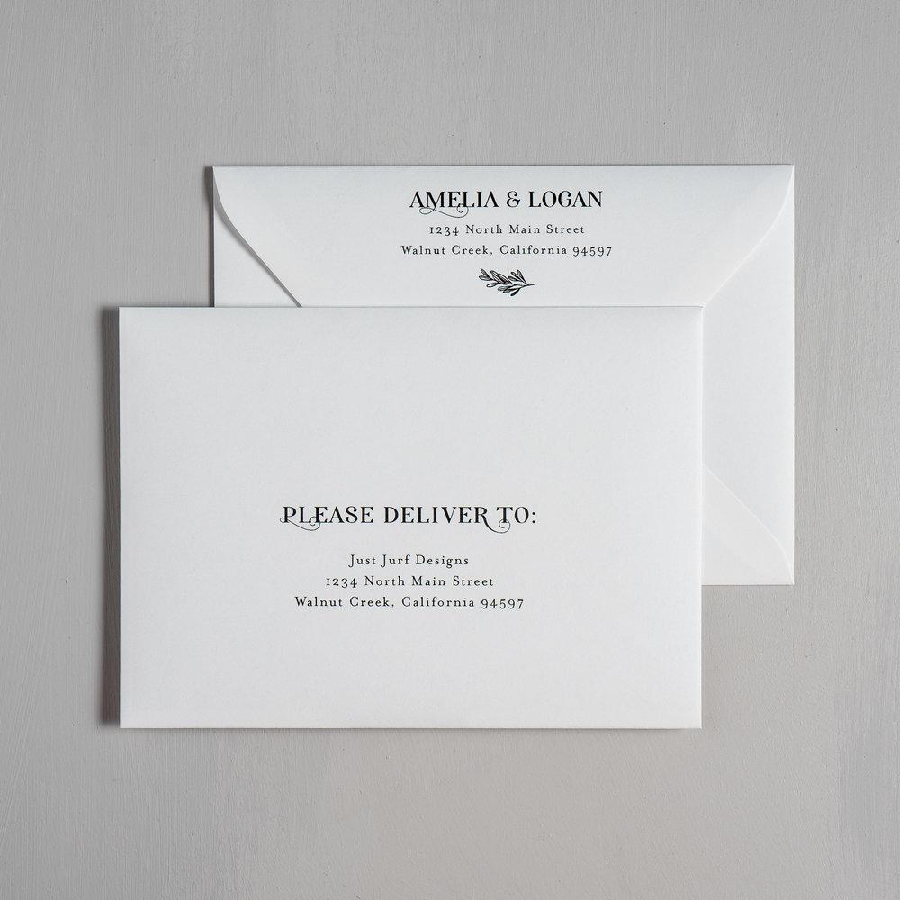 Olive Green Leaf Letterpress Wedding Invitations by Just Jurf-7.jpg