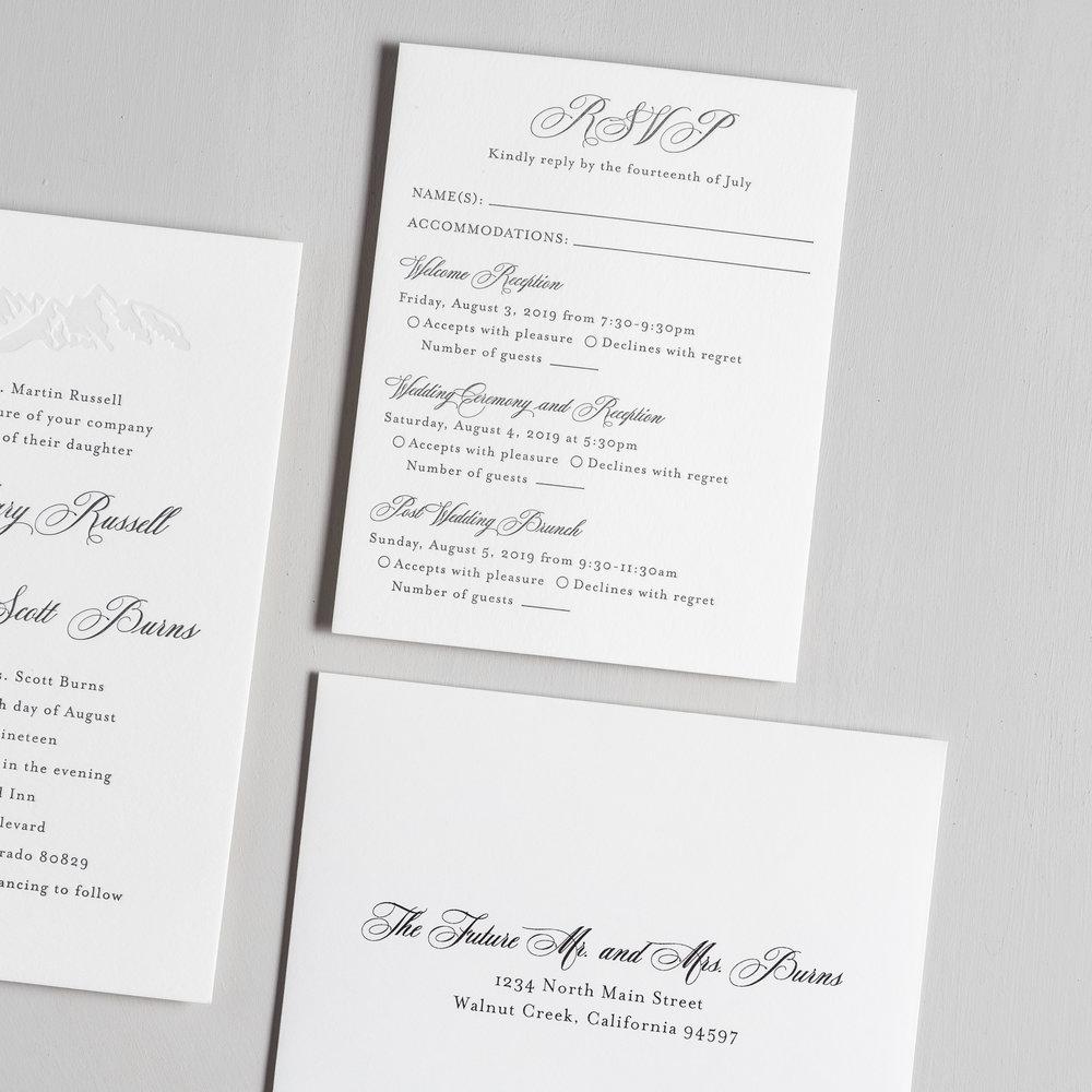 Classic Mountain Letterpress Wedding Invitations by Just Jurf-4.jpg