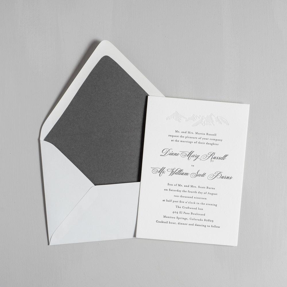Classic Mountain Letterpress Wedding Invitations by Just Jurf-5.jpg