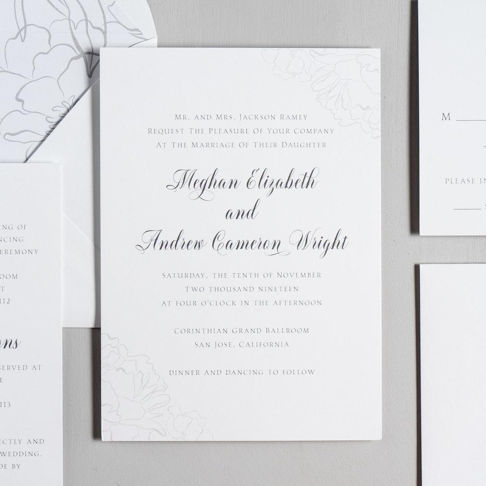 Simple Elegant Floral Wedding Invitations by Just Jurf-2.jpg