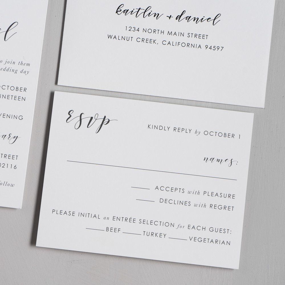 Simple Modern Script V2 Wedding Invitations by Just Jurf-4.jpg