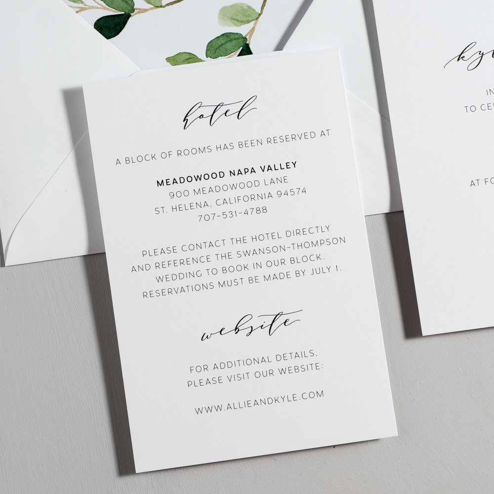 Modern Greenery V2 Wedding Invitations by Just Jurf-3.jpg
