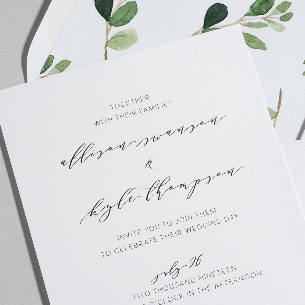 Modern Greenery V2 Wedding Invitations by Just Jurf-8a.jpg
